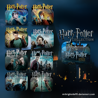 Harry Potter Movies Collection 2001-2011 by mrbrighside95