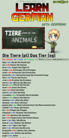 Learn German - Animals by TaNa-Jo