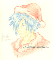 Art Trade for cocopuff298 - Santa Zexion by Berander
