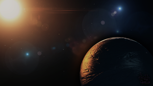 Space Wallpaper by Qutiix