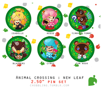 ACNL: Pin Set! by chobble