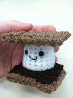Amigurumi S'more by NerdStitch