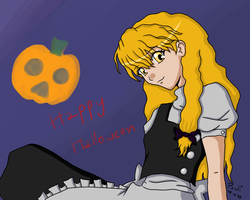 Halloween with Marisa by DemonedAway