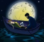 Moon, Crab and Stowaway by LadyKeane