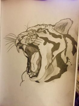 Clouded Leopard by crumbleupsoul