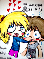 Walking Dead by Violent-Rainbow