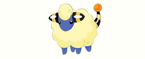 179 Mareep Lineart - Colored by Ninjacat234