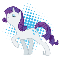 Rarity Pose by dahli-lama