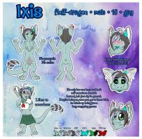 Ixis Ref Sheet by AlexDachshund