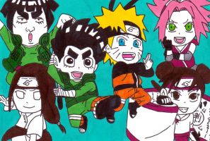 rock lee's springtime of youth 2 by frecklesmile