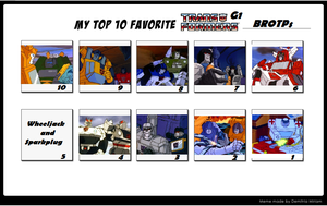 Transformers G1 - Top 10 Brotps Meme by TheWhovianHalfling