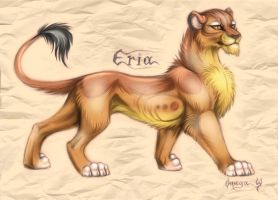 Eria lioness by OmegaLioness