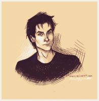 Damon Salvatore by viria13