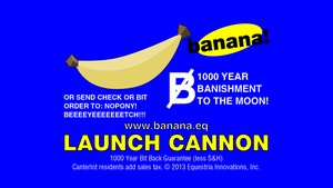 Banana Advertisement by Charleston-and-Itchy