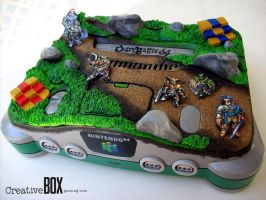 Ogre Battle 64 Custom Nintendo 64 Console by CreativeBoxGaming