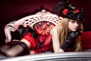 Moulin Rouge girl by SelenaAdorian