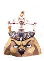 Tank Girl by Manawua