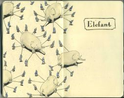 Elefant by MattiasA