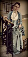 Victorian dress by elejnara