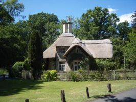 thatched cottage by Maysmum