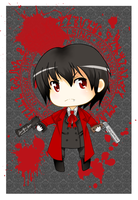 Chibi Alucard - Hellsing by Requiem-for-Zachy