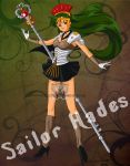 Sailor 'Hades' Pluto by WereLeopard