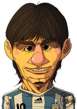 Soccer Argentina Messi by sakiroo