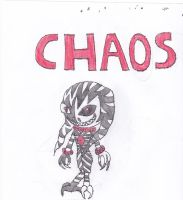 CHAOS by anolelightdragon