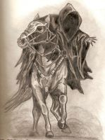 Nazgul or Ringwraith from LOTR by kristinlynch