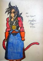 Pan - Super Saiyan 4 by JAM4077