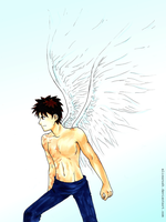 Angel!Obito strikes by elizarush