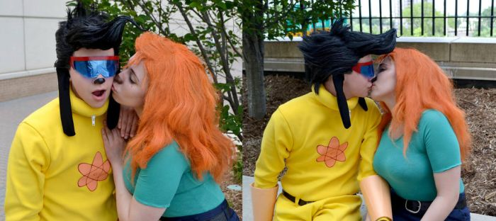 Goofy Movie: Max and Roxanne by sunlitebreeze