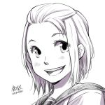[Commission sample][OC] Headshot pencil by lita426t