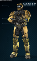 Toa Mata Nui - Spartan Version by Lopez-The-Heavy