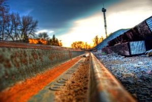 Extra Train Track by lost-remains