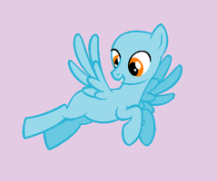 Flying Pony -Male- - Base by Rain-Approves