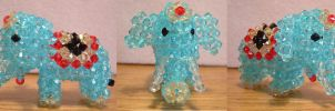 3D Beaded Elephant by leanne80