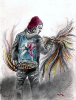 inFamous Second Son Delsin by PharmArtist