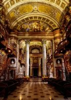 Austrian National Library I by pingallery