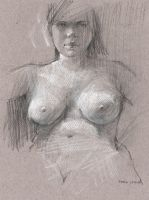 are you looking at my breasts?? by derekjones