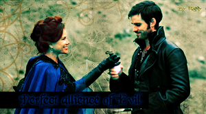 Cora and Hook by Rainusia