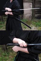 Katana 71- offensive stabbing by Astro-Stock