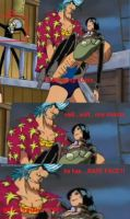 Franky and His a rape face O.O by Winry4010