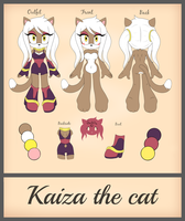 Kaiza the Cat Reference by Viavella