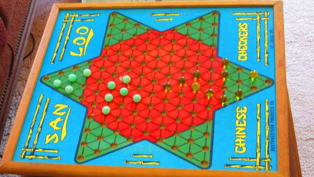 Chinese Checkers by dusk-darkwood