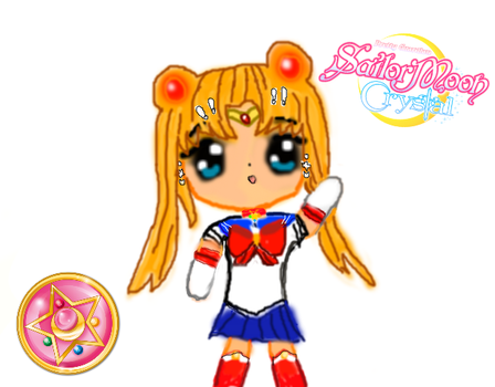 sailor moon crystal chibi by thenerdypenguins