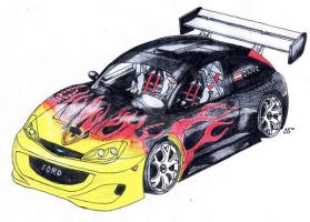 Ford focus tuning by ALX10