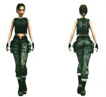 Lara Croft: camo pants by TanyaCroft