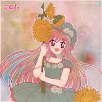 Kobato girasoles by RosaKiddy