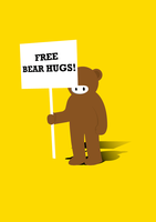 Free Bear Hugs by BrainboxMedia